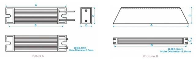 电子元器件 电阻 常州博邦电气科技有限公司 产品展示 制动电阻 铝壳